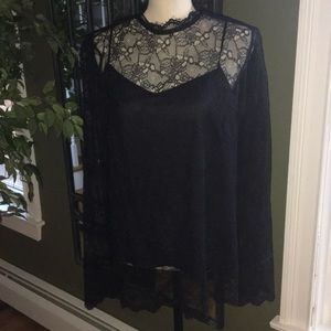 Theory Lace top